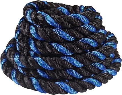 "1.5/"" 2/"" 30//40ft Battle Rope Exercise Undulation Strength Training Fitness"