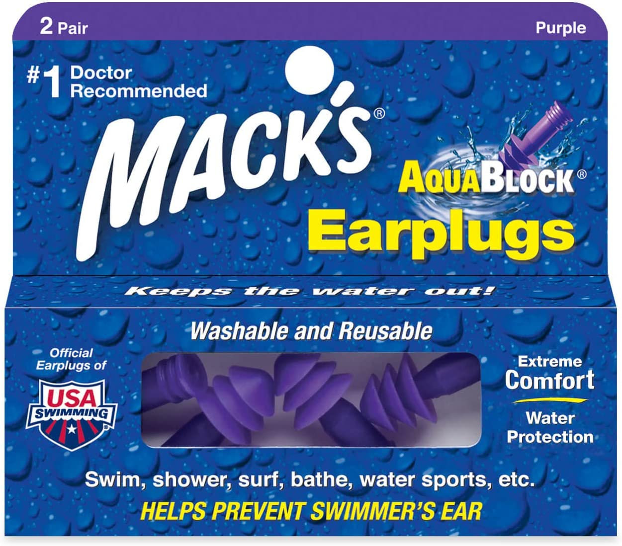 Excellent Swimming Ear Plugs