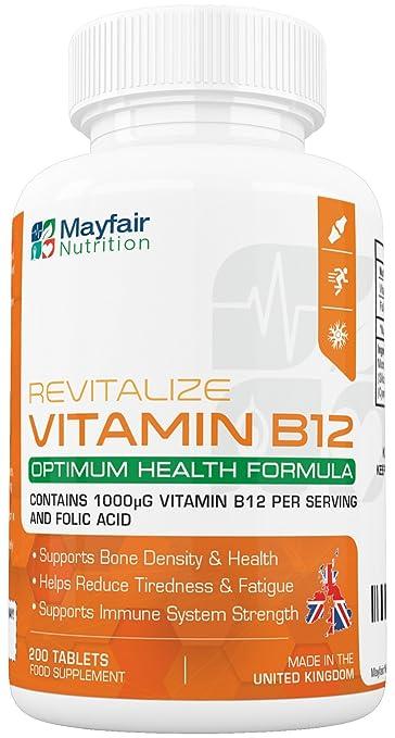 34 opinioni per Vitamina B12 con acido folico- 200