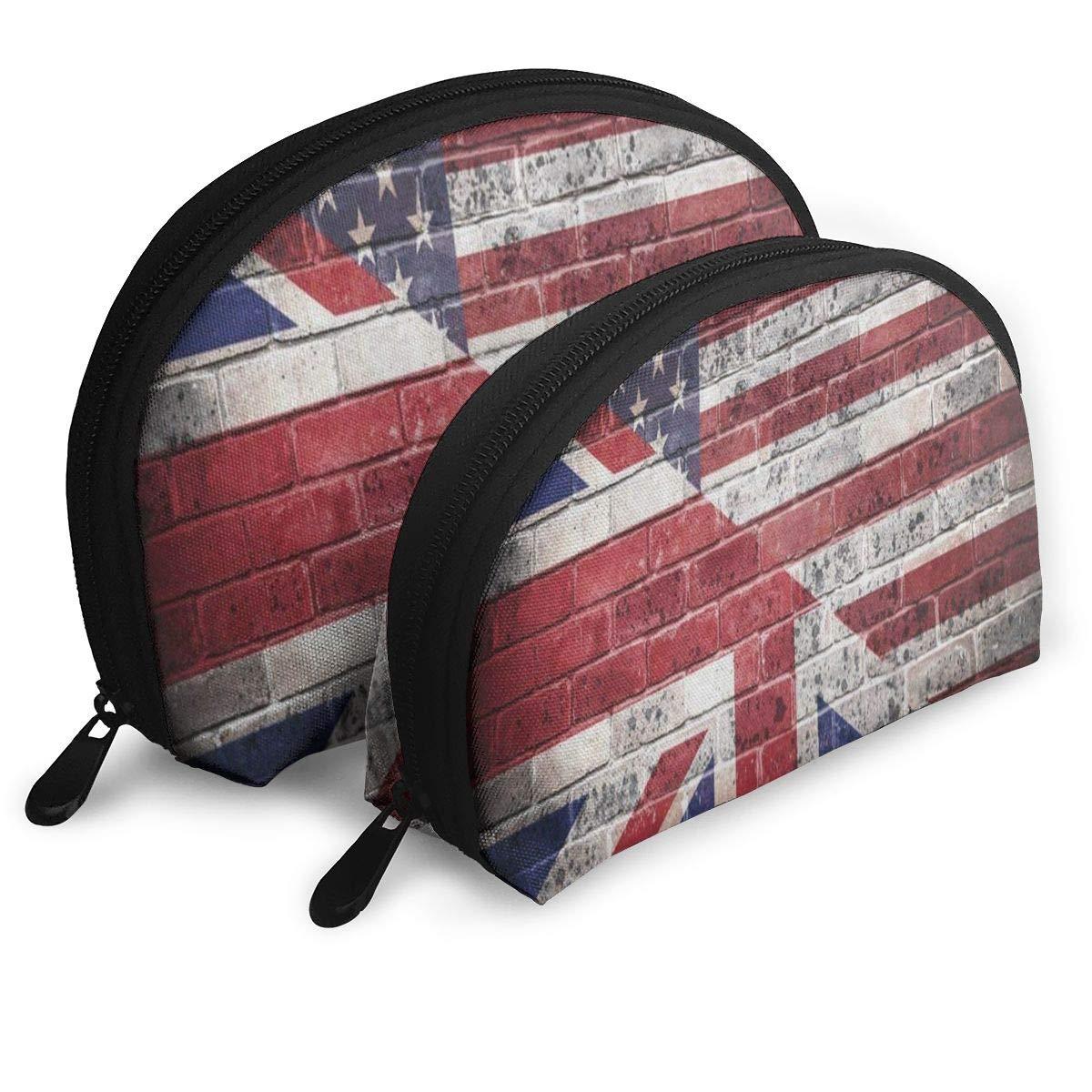 04637cb446e6 Amazon.com   Makeup Bag Vinatge Spaniel Dog In Pirate Hat Sugar Skull Handy  Shell Travel Bags Case For Women   Beauty