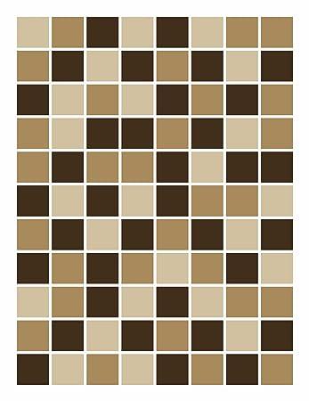 FoLIESEN Fliesenaufkleber Für Bad Und Küche   15x20 Cm   Mosaik Beige Braun    16