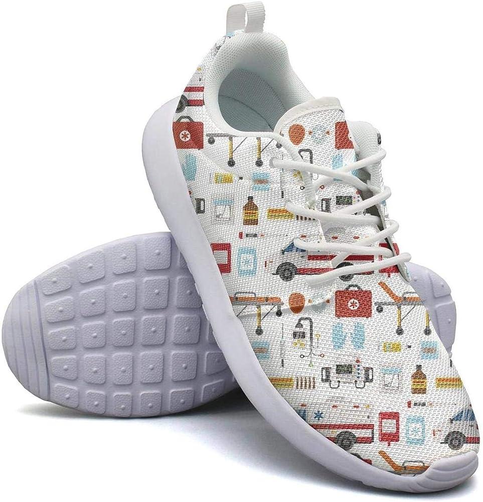 Amazon.com: Ambulance medicine health emergency Running Shoe Sneakers Mens  Shoes: Clothing