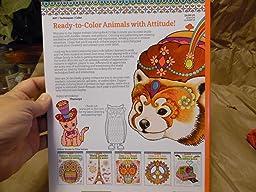 Dapper Animals Coloring Book Coloring Is Fun Design