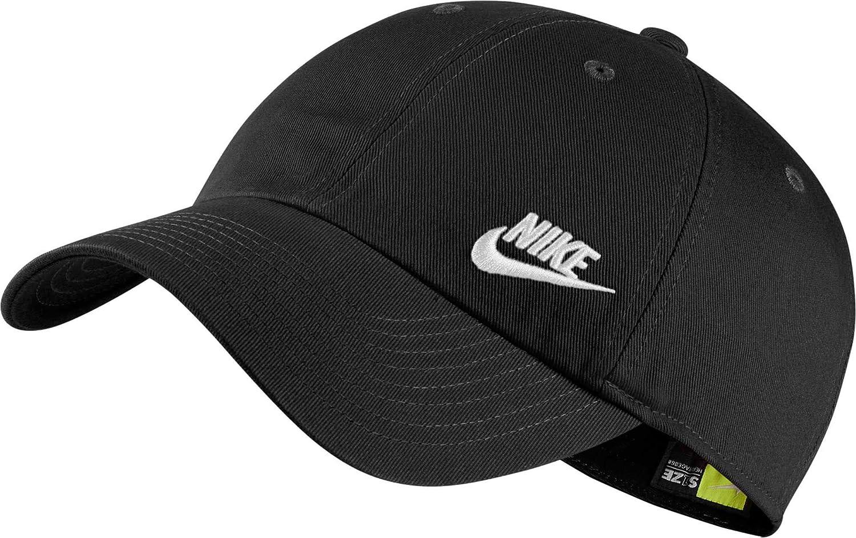 Amazon.com  Nike Women s Sportswear Heritage86 Hat (Black White ... db0ff3da3ae1