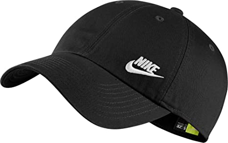 200e2596c71 Amazon.com  Nike Women s Sportswear Heritage86 Hat (Black White ...