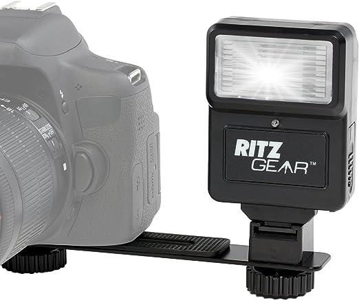 Ritz Gear Digital Camera Flash with Bracket