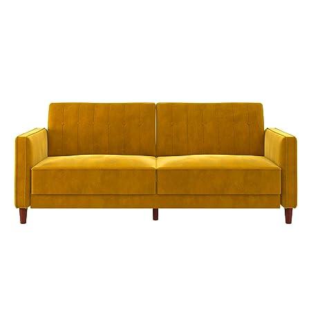 DHP DZ63348 Ivana Futon, Yellow