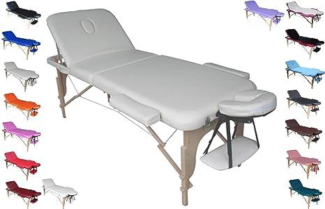 Polironeshop Venere Lettino Portatile In Legno Per Massaggi