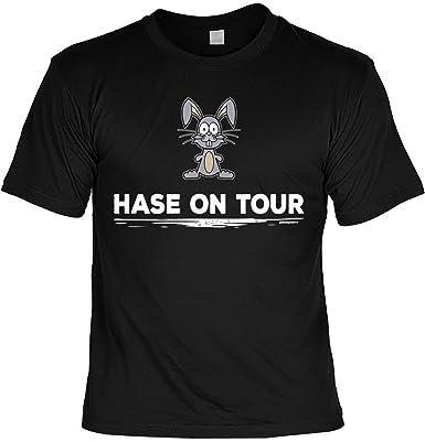 Ostern Lustige Sprüche Fun Tshirt Hase On Tour Oster Tshirt Mit