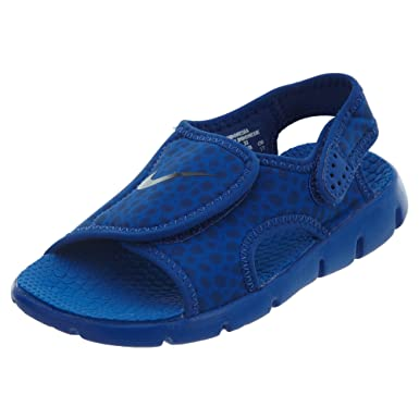 5cf4511ee55 ... NIKE Boys Sunray Adjust 4 Sandals Game Royal Obsidian 1Y ...