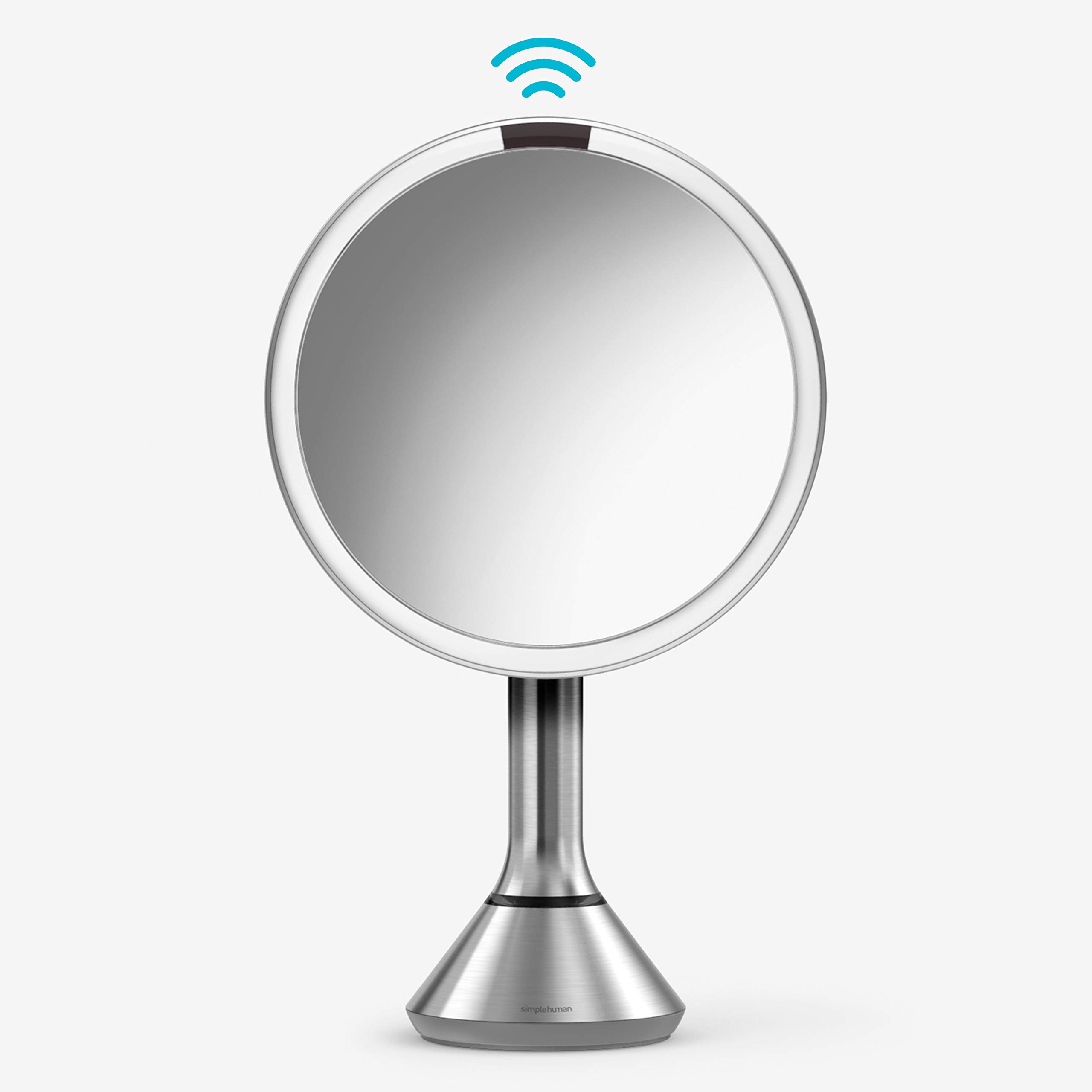 """simplehuman 8"""" Round Sensor Makeup Mirror"""