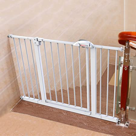 WSSF  Baby Stairway Safety Gates Fences Play Area Indoor Child Toddler  Playpen Extra Wide Auto
