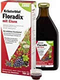 Salus-Haus Floradix Iron Plus Herbs, 23 Fluid Ounce