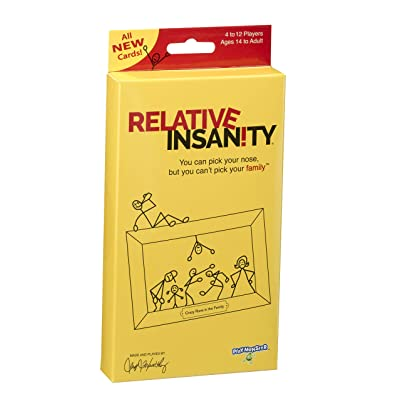 Relative Insanity Party Game Expansion/Travel Pack: Toys & Games