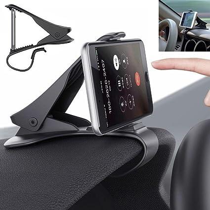 hkfv soporte de coche universal coche salpicadero soporte de diseño de soporte para teléfono móvil GPS