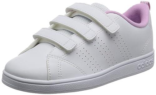 outlet store 17a20 c313d adidas Vs Advantage Clean Cmf C, Scarpe da Ginnastica Unisex – Bambini,  Bianco Ftwbla