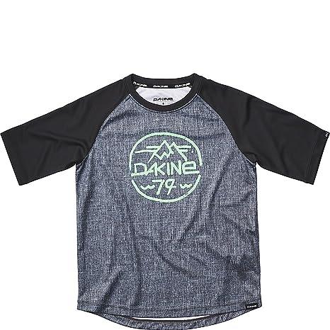 Amazon.com   Dakine Kid s Dropout Short Sleeve Bike Jersey Shirt ... c227d4f2b