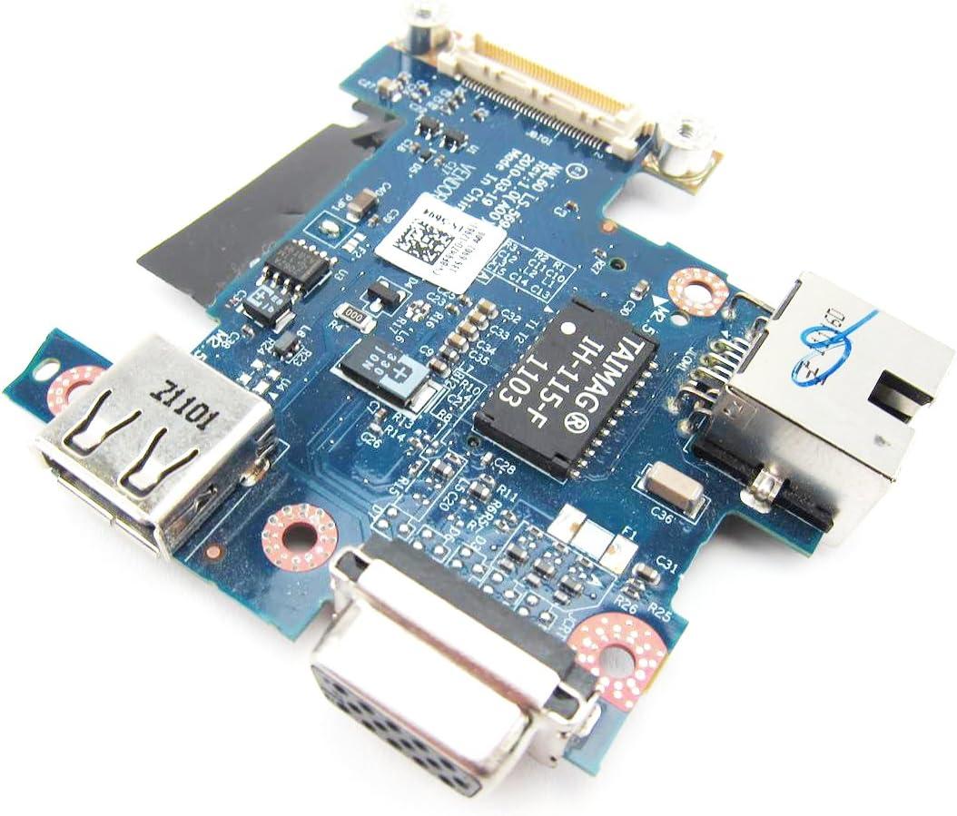 New Dell Latitude E4310 USB VGA IO Circuit Board - F9M7D F9M7D