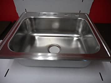 Neptune 8 In Deep Single Bowl Sink