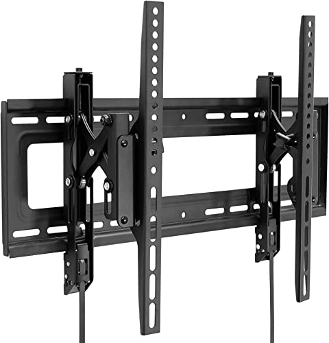 Mount-It Advanced Tilt TV Wall Mount Full Tilting Extendable Mounting Bracket VESA Compatible up to 600x400mm Perfect Above Fireplace Mounting Bracket