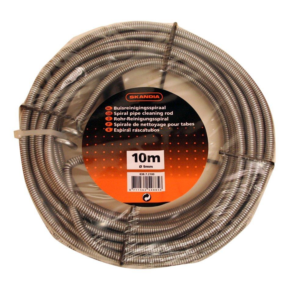 Skandia, spirale sturatubi per lavello, 10 m, 1 pezzo, 1043117 spirale sturatubi per lavello 10m THR