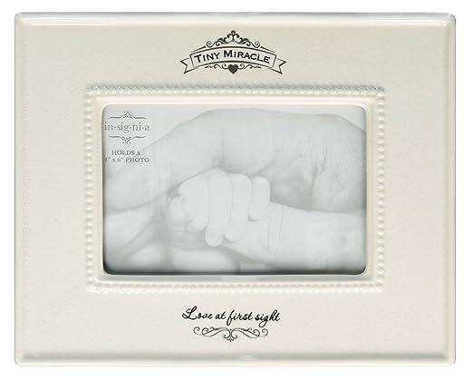 Amazon.com : Insignia Tiny Miracle Baby Photo Frame from Enesco : Baby