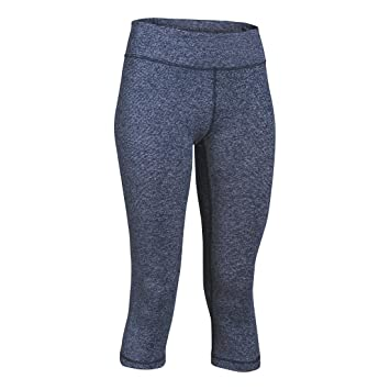 Clothing, Shoes & Accessories Womens Under Armour Size Xs Blue Stripped Cropped Capri Athletic Pants Activewear Bottoms