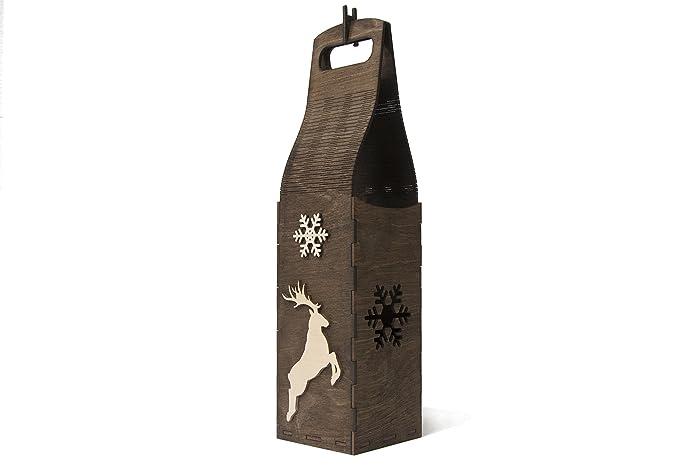 Christmas gift coworker, Champagne box gift, Wine box, Christmas ...