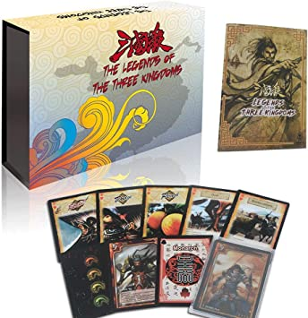 Three Kingdoms Juego de Cartas de Guerra, Juegos de Mesa de Familia recreativa: Amazon.es: Juguetes y juegos
