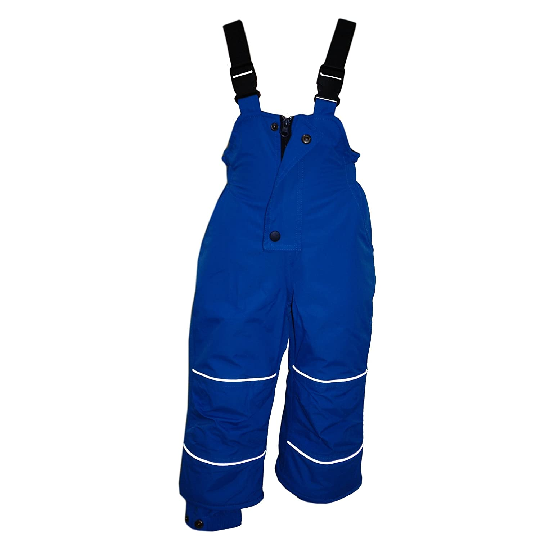 Outburst - Baby Skihose Schneehose Mädchen 10.000 mm Wassersäule Wasserdicht, blau (92, blau)