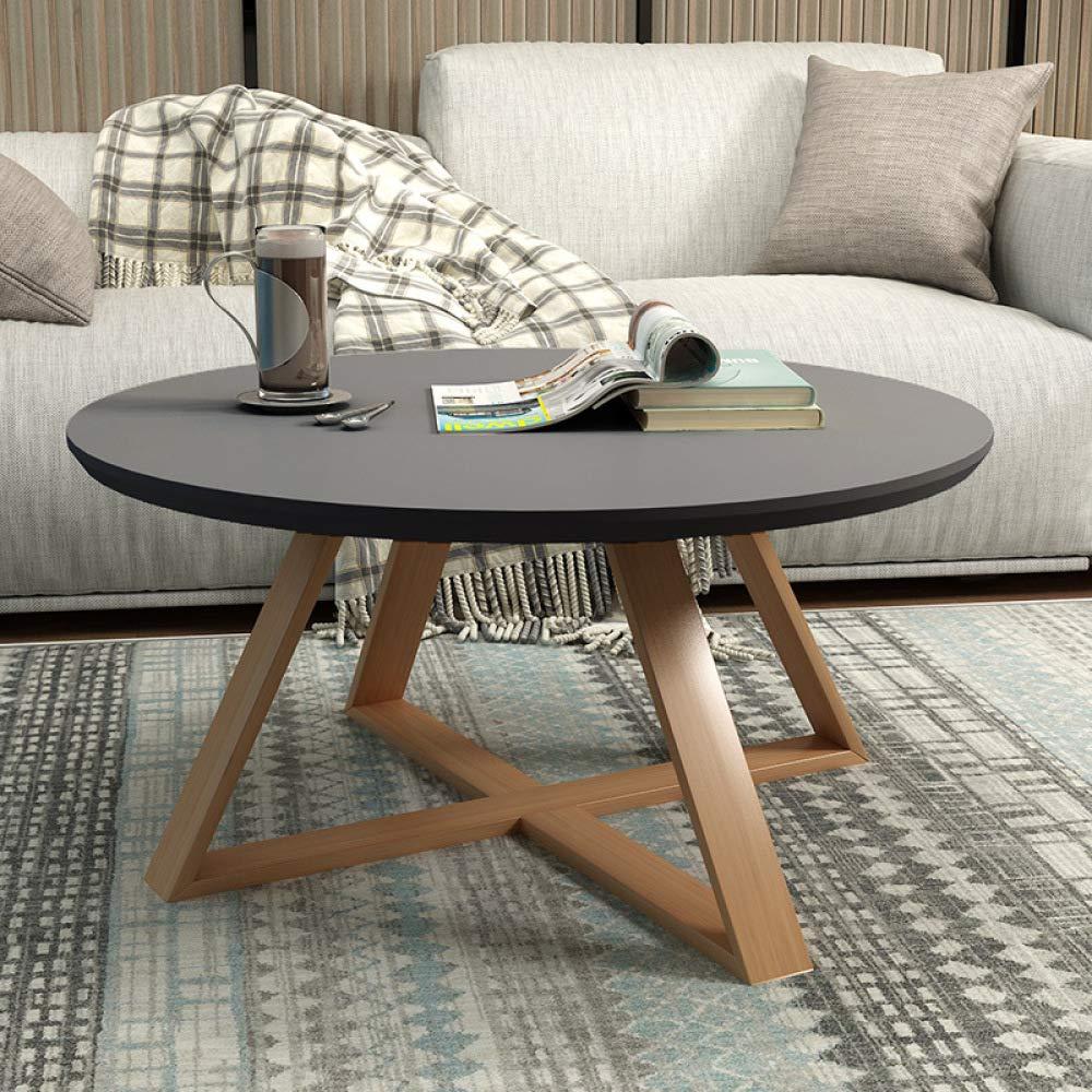 WU Teetisch, Moderner Minimalistischer Wohnzimmertisch, Runder Kleiner Beistelltisch, Kleines Tischchen/Teetisch Klein