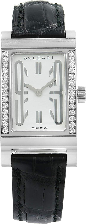 Bvlgari RT W39 G - Reloj para Mujeres, Correa de Cuero