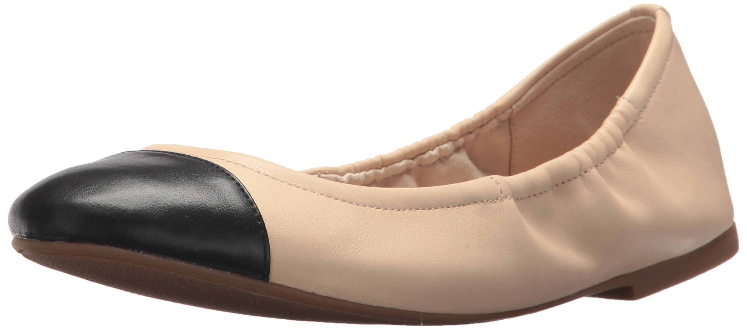 Sam Edelman Women's fraley Ballet Flat, Summer Sand/Black, 6.5 Medium US