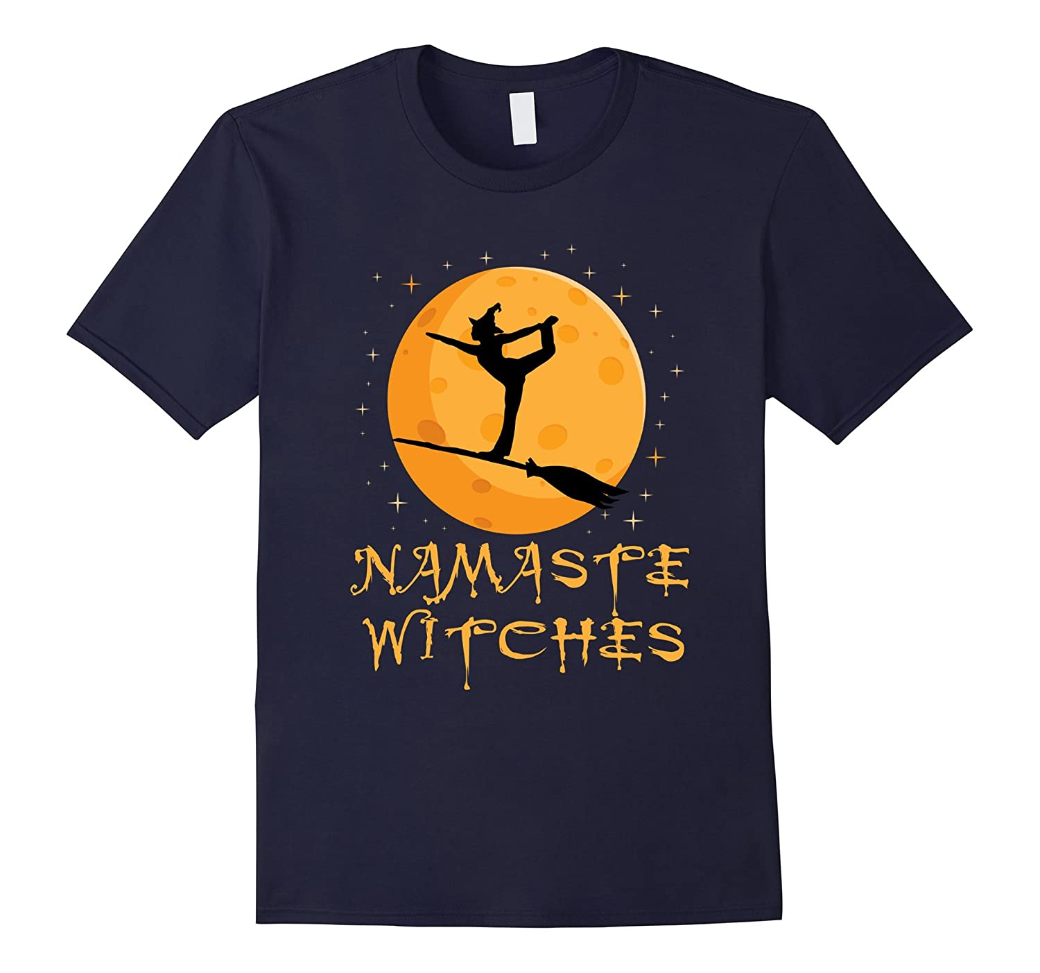'Namaste Witches' Cute Witch Halloween Shirt-ANZ