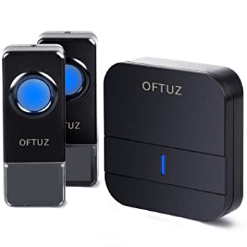 OFTUZ Wireless Doorbell with 2 Push Buttons 1 Plug-in Receiver900ft Long Range  sc 1 st  Amazon.com & OFTUZ Wireless Doorbell with 2 Push Buttons 1 Plug-in Receiver ... pezcame.com