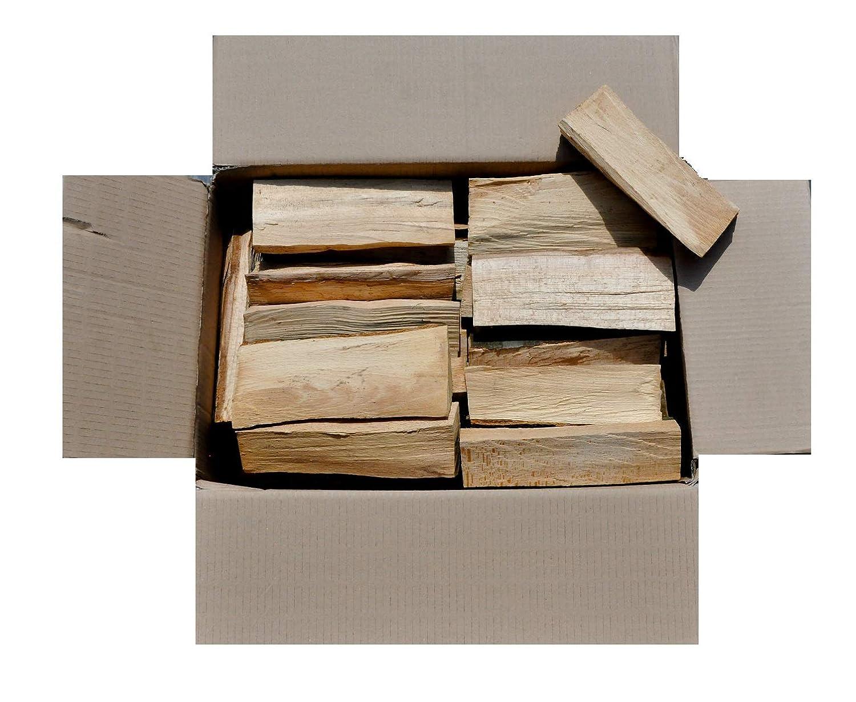 schwarzSellig 90 Kg Brennholz Kaminholz Reine Buche ofenfertig kammergetrocknet in 25 cm Länge aus Hessen, Keine Importware