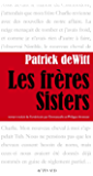 Les frères Sisters (Lettres anglo-américaines)
