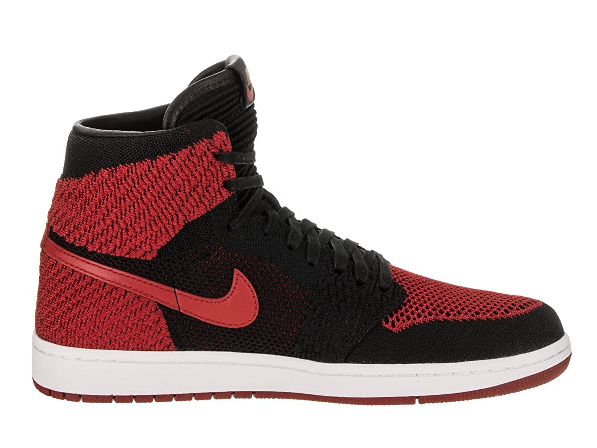 wholesale dealer 6d99b 3ac60 Amazon.com   Nike Air Jordan 1 Retro Hi Flyknit 919704 001 Men s Basketball  Shoes (9.5)   Basketball