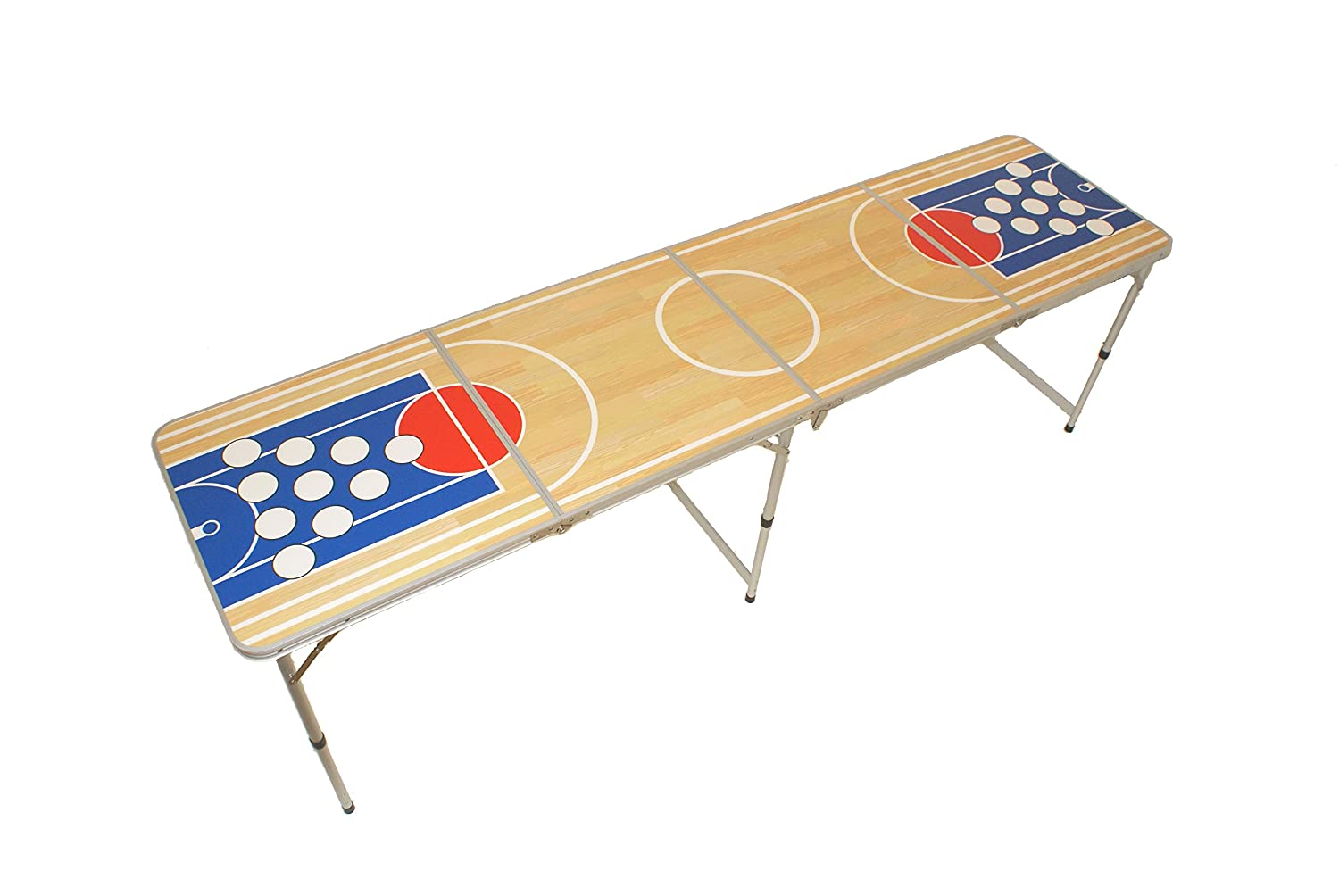 Beer pong table, beer pong table including rules, camping table, basket pong, 2 Drachenstore