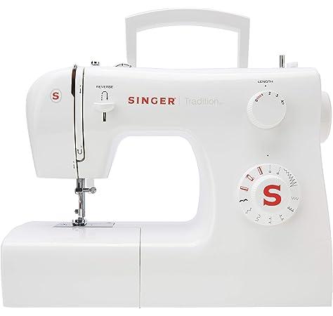 Brother x17s máquina de coser mecánico, color blanco/azul, 40 x 15 x 33 cm: Amazon.es: Hogar