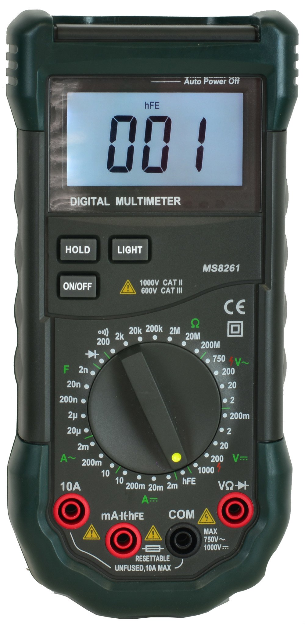 Mastech MS8261 Full Feartured Digital Multimeter with Temperature and Capacitance Measurement