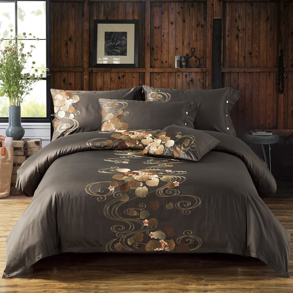 everything and white piece crestwood bed product bedding brown comforter set embroidered