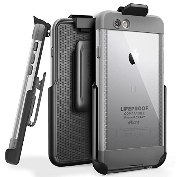 competitive price ff90a 6929d Encased Belt Clip Holster for LifeProof NUUD Case iPhone 6 (4.7