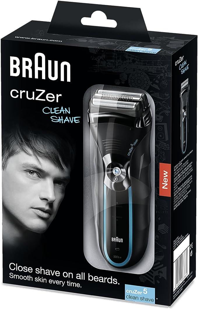 Braun cruZer5 Clean Shave - Afeitadora eléctrica con recortadora de precisión: Amazon.es: Salud y cuidado personal