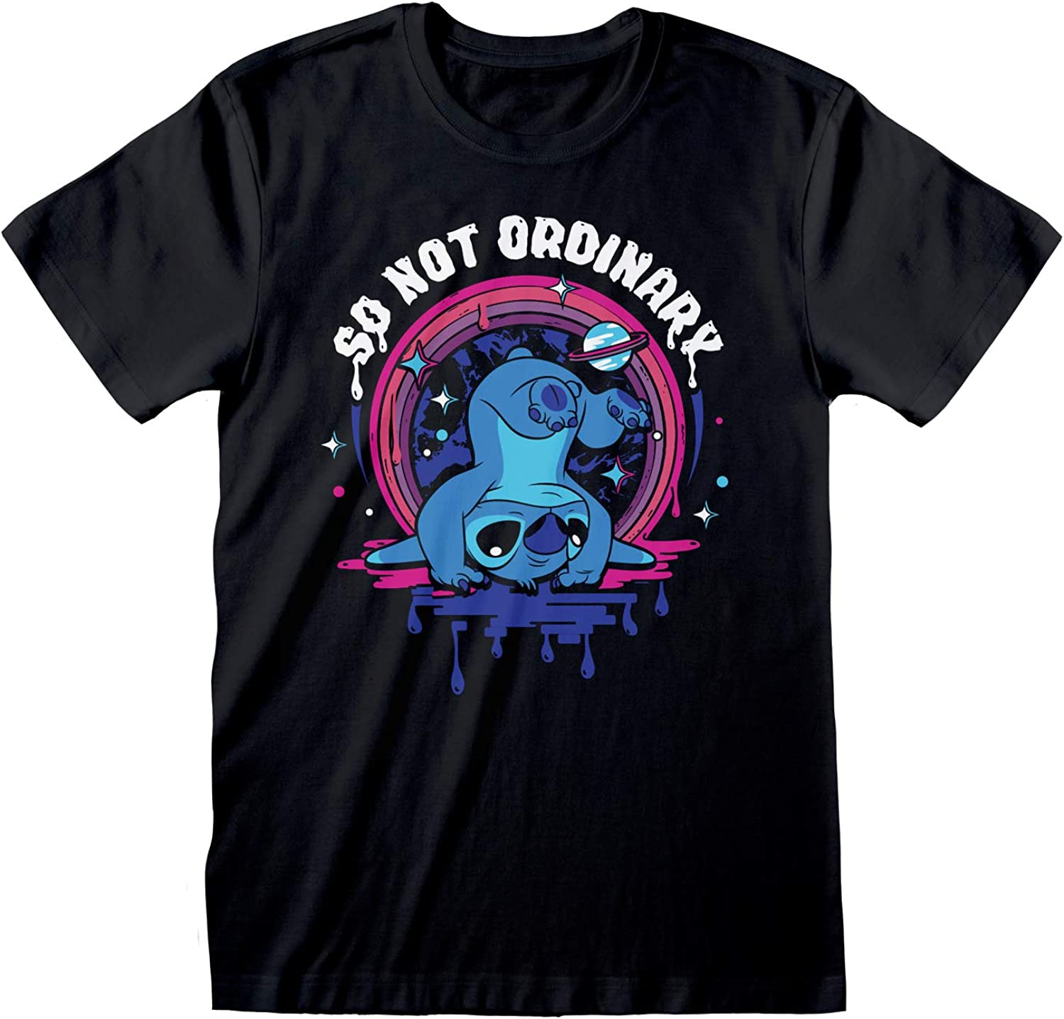 Merchandise Ufficiale Disney Lilo And Stitch So Not Ordinary Boyfriend T-Shirt da Donna/