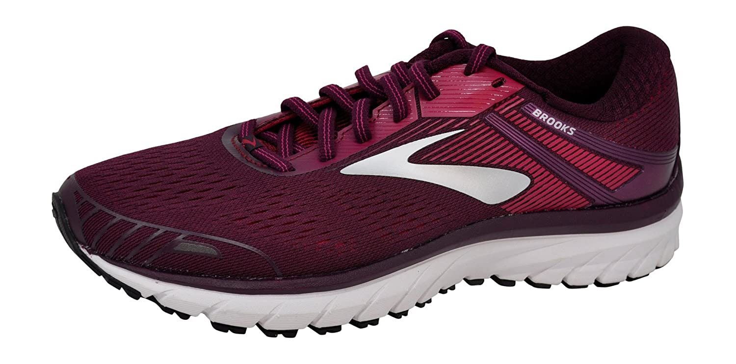 Purple Pink Silver Brooks Women's Ghost 11 Running shoes
