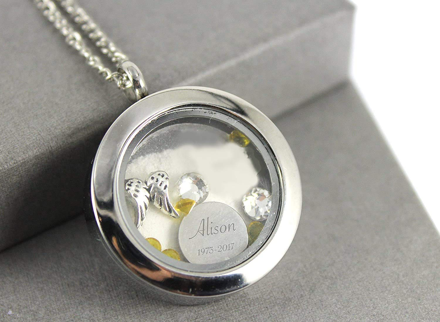 ashes jewellery ashes pendant ashes in glass jewellery Ashes necklace memorial jewellery cremation jewellery