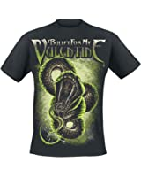 Bullet For My Valentine Venom Snake T-Shirt schwarz