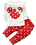 Avidqueen Cute Toddler Baby Girls Clothes Set T-Shirt + Short Pants Kids 2pcs Summer Outfits
