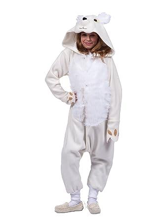 Polar Bear Funsie Jumpsuit Costume for Kids  sc 1 st  Amazon.com & Amazon.com: Polar Bear Funsie Jumpsuit Costume for Kids: Clothing